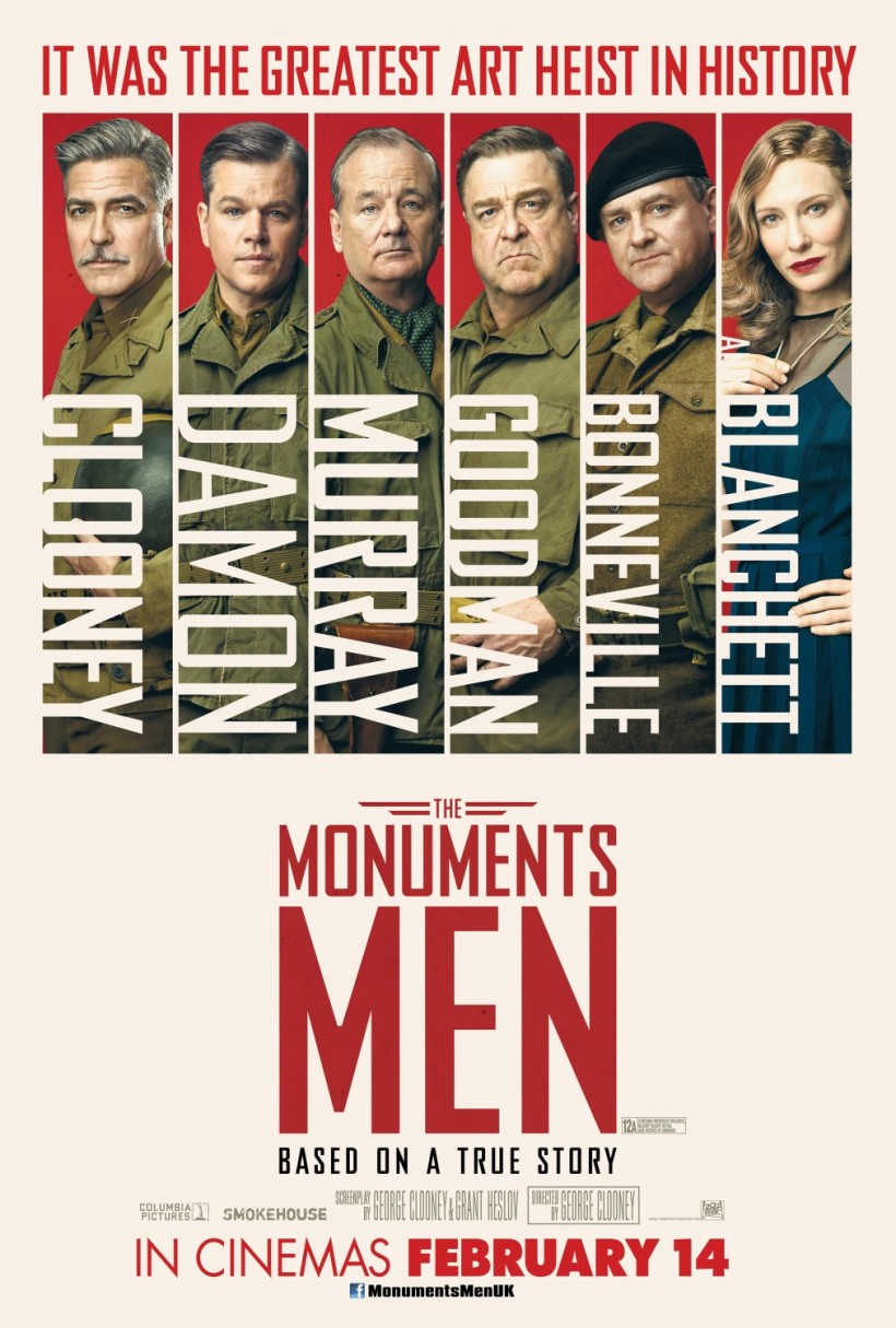 I like the UK poster design better than the American version, but points off for not including Dujardin.