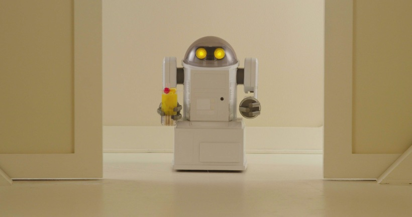 A robot with a Harvey Wallbanger. And it only gets better from there. ()
