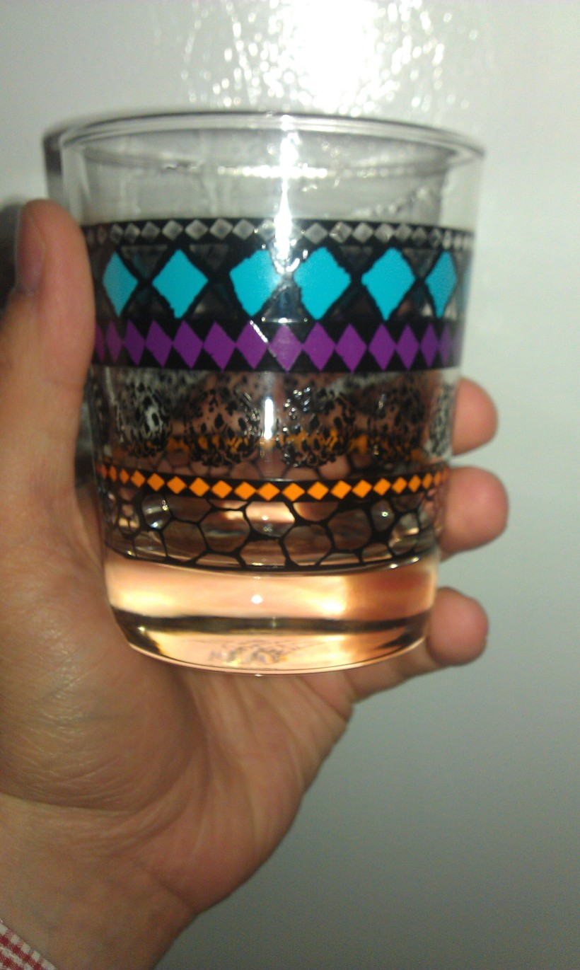 My awesome new Murkla glass.