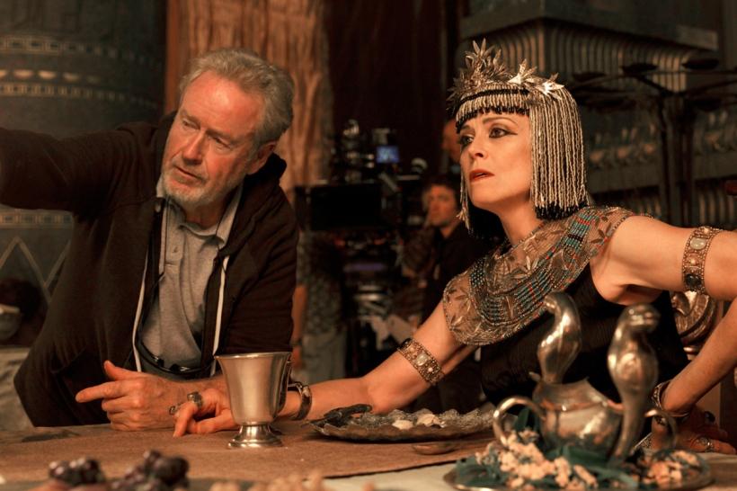 She's a long way from Ellen Ripley. But then again, he's a long way from Alien. (Source)