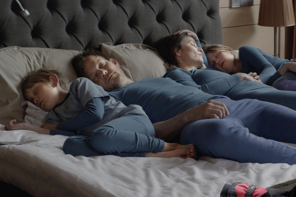 And let's not forget the matching blue pajamas. Because seriously. ()