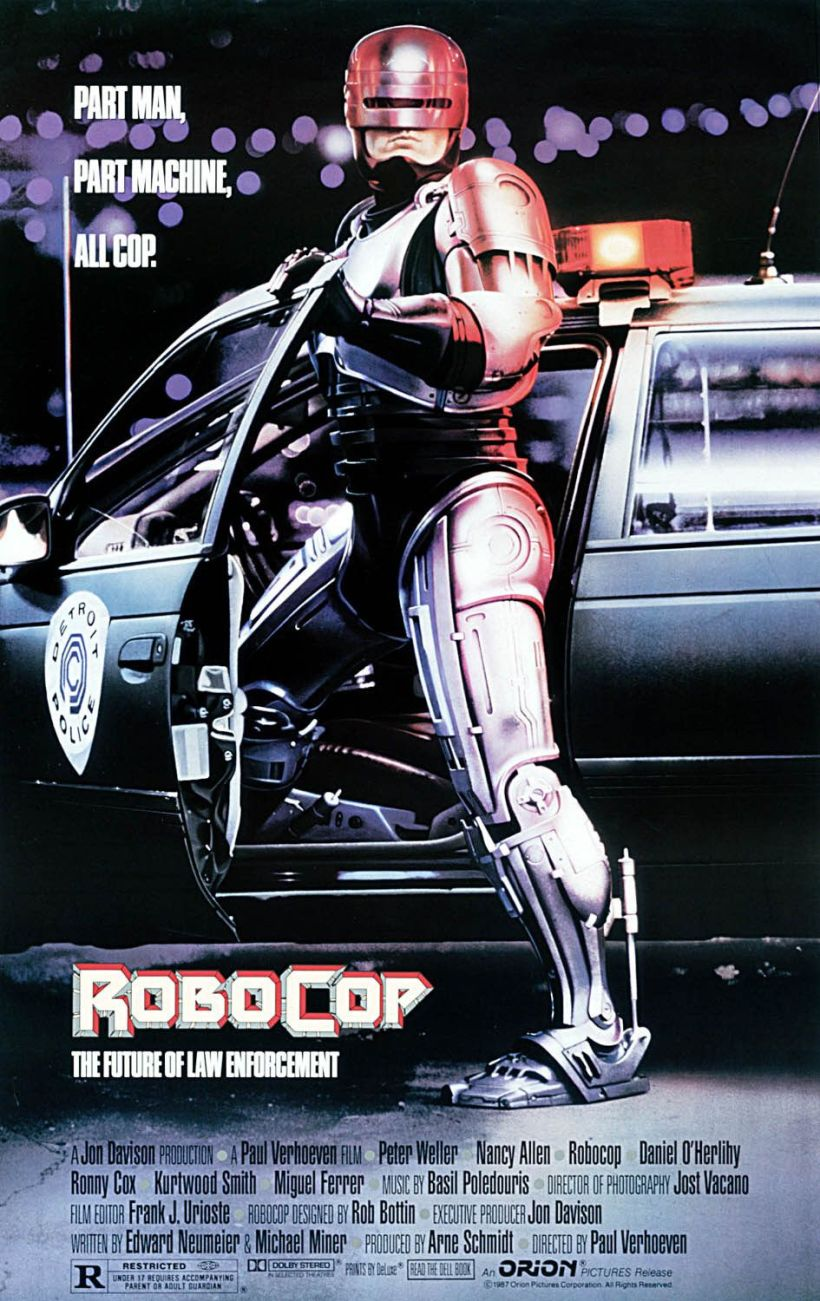 Okay, when Detroit comes up, you have to cite RoboCop. Because it's RoboCop. Because HE'S RoboCop. ()
