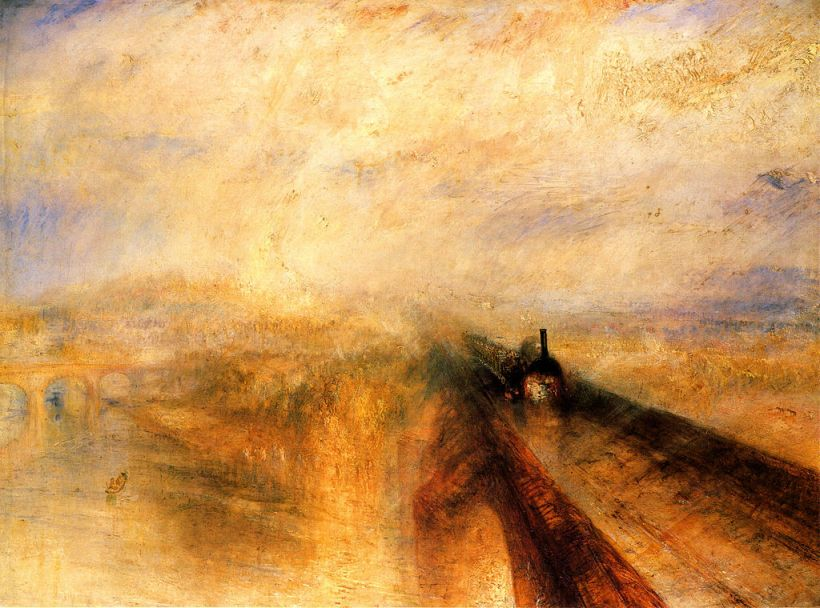 "Turner's ""Rain, Steam, and Speed"". (Source)"