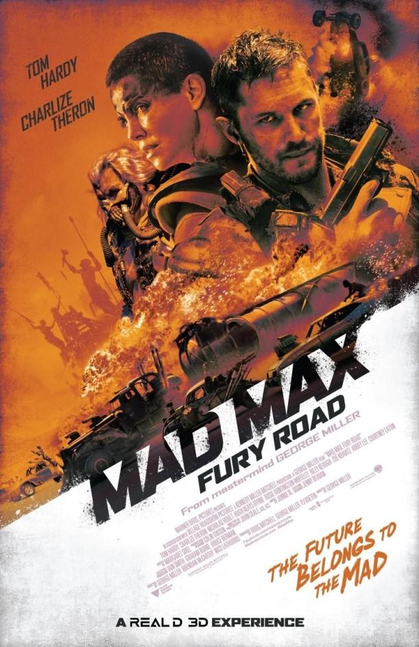 Mad Max retro poster