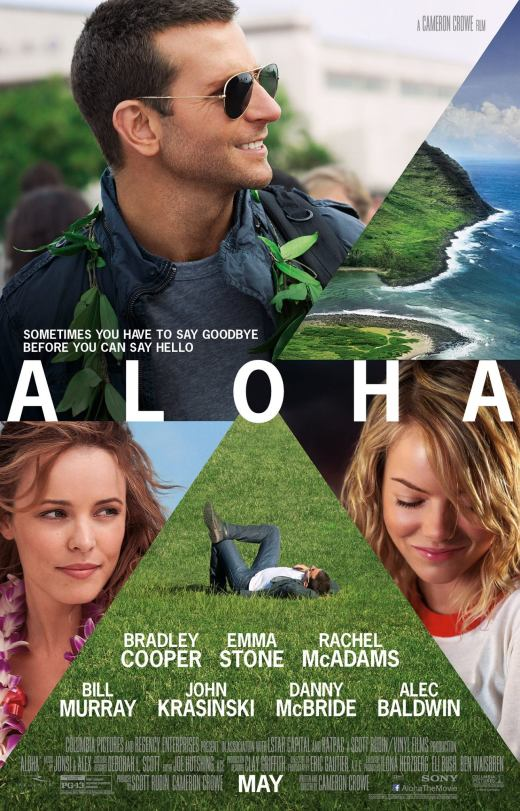 I'm not sure what this poster is saying, other than there are white people and we're in Hawaii. But this sure as shit isn't The Descendants. (Source)