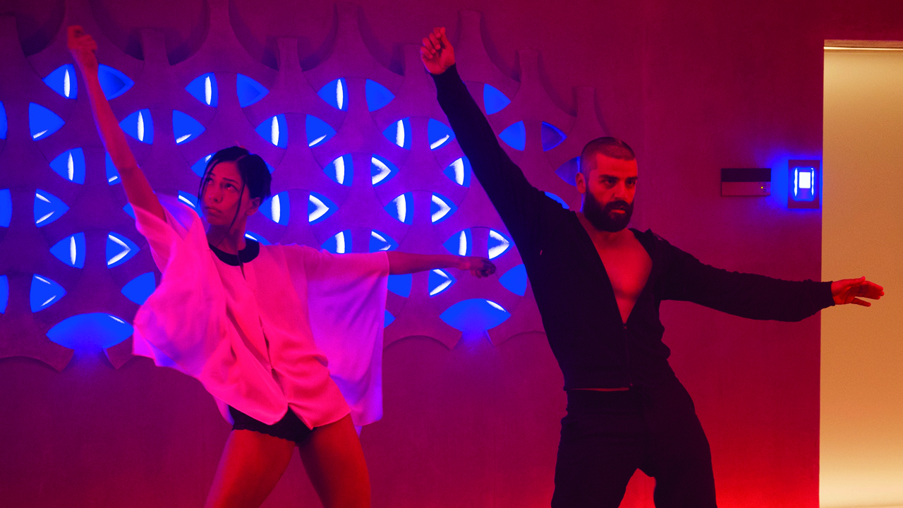 Ex Machina dance scene