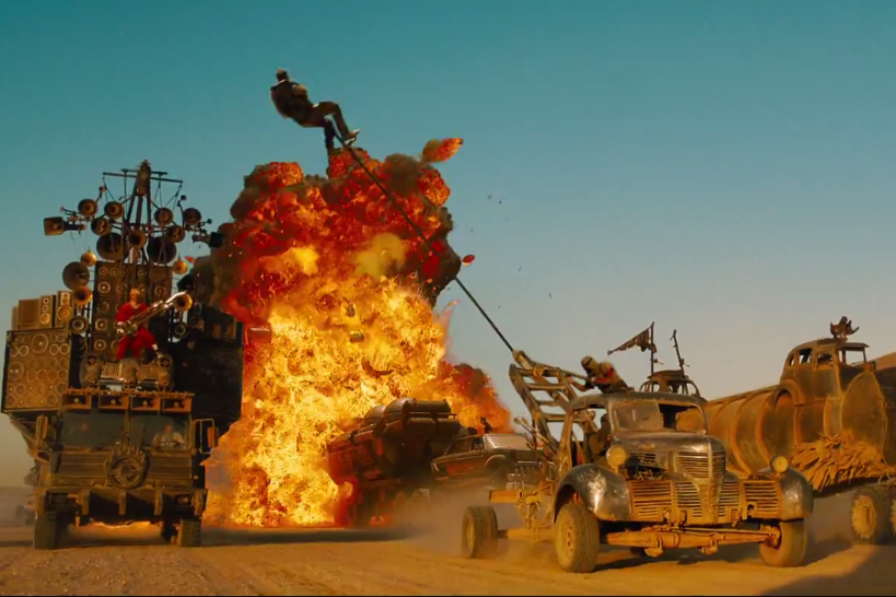 Mad Max road war