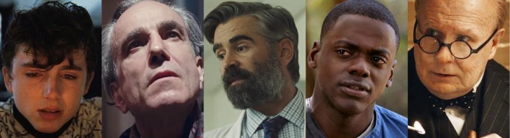 2017 Best Actor nominees
