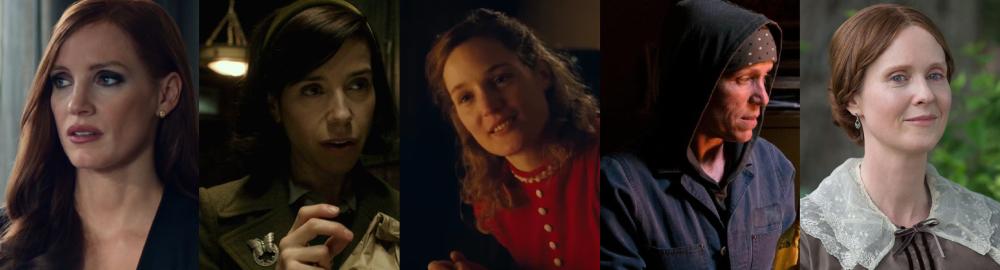 2017 Best Actress nominees